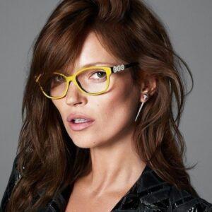 boucles d'oreilles selon la forme des verres de lunettes